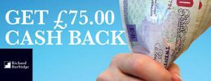 Get £75.00 Cash Back!